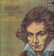 LP-Box - Beethoven - Sämtliche Sinfonien,, Gewandhausorch Leipzig, Franz Konwitschny - Hardcover Box
