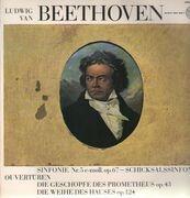 LP - Beethoven - Sinfonie Nr.5 c-moll, Ouvertüren zu Die Geschöpfe des Prometheus & Die Weihe des Hauses