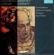 LP - Beethoven - Sinfonie Nr.5 c-moll,, Gewandhausorch, Masur
