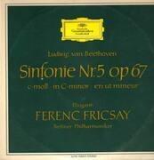 LP - Beethoven - Sinfonie Nr.5 op 67, Dir F.Fricsay, Berliner Philharmoniker