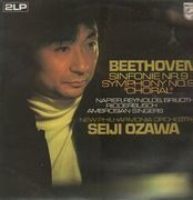 Double LP - Beethoven - Sinfonie Nr.9,, Ozawa, New Philh Orch