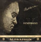 LP - Beethoven - Symphony V, Czech Philh Orch, Ancerl