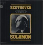 LP - Beethoven - Sonaten für Klavier Nr.31 und 32,, Solomon