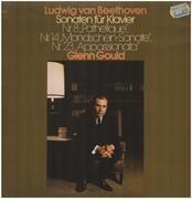 LP - Beethoven / Glenn Gould - Sonaten für Klavier Nr.8, Nr.14, Nr.23