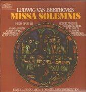 Double LP - Beethoven / Sylvia Geszty , Soffel , Rendall , Widmer , Der Süddeutsche - Missa Solemnis