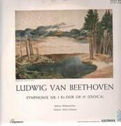 LP - Beethoven - Symph Nr.3 Es-Dur,, Berliner Philh, Cluytens