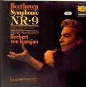 LP - Beethoven - Symphonie Nr. 9,, Berliner Philharmoniker, Karajan