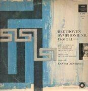 LP - Beethoven - Symphonie Nr. IX D-Moll,, Ansermet, Orch de la Suisse Romande