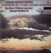LP - Beethoven - Symphonie Nr.7 A-Dur, Egmont Ouvertüren,, Berliner Philh, Keilberth