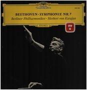 LP - Beethoven - Symphonie Nr.7,, Berliner Philharmoniker, Karajan