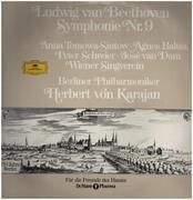 LP - Beethoven - Symphonie Nr.9,, Karajan, Berliner Philh.