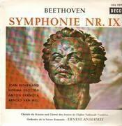 LP - Beethoven - Symphonie Nr.IX,, Orch de la Suisse Romande, Ansermet