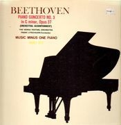 LP - Beethoven / The Vienna Festival Orchestra, Franz Litschauer - Piano Concerto No.3 in C minor, Op.37 - Gatefold with integrated booklet