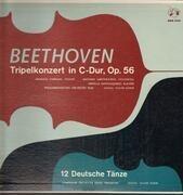 LP - Beethoven - Tripelkonzert in C-Dur, Op.56, 12 Deutsche Tänze