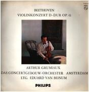 LP - Beethoven - Violin Concerto in D Major; A. Grumiaux, E.v. Beinum
