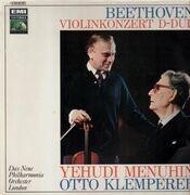 LP - Beethoven - Violinkonzert D-Dur (Menuhin, Klemperer)