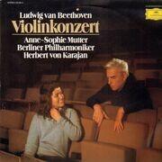 LP - Beethoven / Anne-Sopie Mutter - Violinkonzert (Karajan) - Club-Sonderauflage