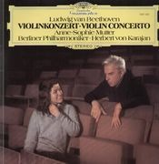 LP - Beethoven - Violinkonzert,, Mutter, Karajan, Berliner Philh