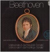 LP - Beethoven - Violinsonaten A-dur & F-dur,, D. Oistrach-Violine Lew Oborin-Klavier