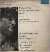 LP - Beethoven - Wellingtons Sieg oder die Schlacht bei Vittoria, Militärmusik,, Gewandhausorch Leipzig, Bongartz