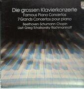 LP-Box - Beethoven, Schumann, Chopin, Liszt, Grieg, Tchaikovsky, Rachmaninoff - Die grossen Klavierkonzerte
