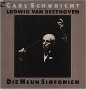LP - Ludwig van Beethoven - Die Neun Sinfonien - Hardcover Box