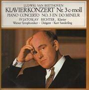 LP - Beethoven - Klavierkonzert Nr.3 c-moll,, S. Richter, Wiener Symph, K. Sanderling