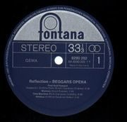 LP - Beggars Opera - Reflection