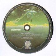 LP - Beggars Opera - Waters Of Change - spaceship labels