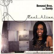 12inch Vinyl Single - Benassi Bros. Feat. Sandy - Feel Alive