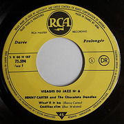 7inch Vinyl Single - Benny Carter , The Chocolate Dandies - Visages Du Jazz N°6