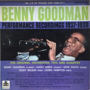 LP - Benny Goodman - Performance Recordings 1937-1938 Volume 2