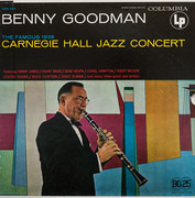 Double LP - Benny Goodman - The Famous 1938 Carnegie Hall Jazz Concert - + Poster