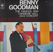 Double LP - Benny Goodman - The Famous 1938 Carnegie Hall Jazz Concert - gradient labels