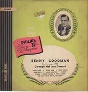 LP - Benny Goodman - The Famous 1938 Carnegie Hall Jazz Concert