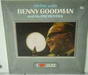 LP - Benny Goodman And His Orchestra - Swing With Benny Goodman And His Orchestra