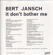 LP - Bert Jansch - IT Don't Bother Me