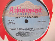 12inch Vinyl Single - Bertice Reading - You're Gonna Suffer - Still Sealed