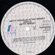LP - Betty Wright - Betty Travelin' In The Wright Circle