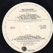 LP - Big Country - The Buffalo Skinners