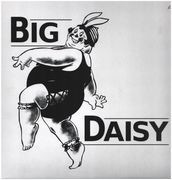 LP - Big Daisy / Jury - Big Daisy - white vinyl