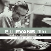 Double LP - Bill Evans Trio - Sunday At The Village Vanguard | Waltz For Debby - 180GR.