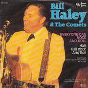 7inch Vinyl Single - Bill Haley And His Comets - Everyone Can Rock And Roll