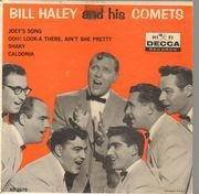 7inch Vinyl Single - Bill Haley And His Comets - Joey's Song / Ooh! Look-a There, Ain't She Pretty - Original US, Picture Sleeve
