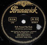 10'' - Bill Haley And His Comets - Rock Around The Clock - Brown, Top-Open