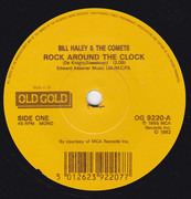 7inch Vinyl Single - Bill Haley And His Comets - Rock Around The Clock - Large Centre