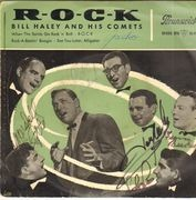 7inch Vinyl Single - Bill Haley - R-O-C-K EP - Original German EP / Signed