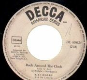 7'' - Bill Haley - Rock Around The Clock / Shake, Rattle And Roll - Rock'n'Roll classic!