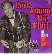 LP - Bill Haley & The Comets - Rock Around The Clock - White label, open decca
