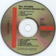 CD - Bill Withers - Bill Withers' Greatest Hits